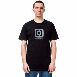 Horsefeathers FAIR T-SHIRT černá S - Pánské tričko