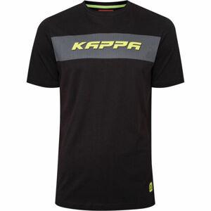 Kappa LOGO CABAXX černá L - Pánské triko