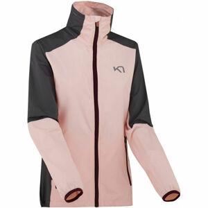 KARI TRAA NORA JACKET růžová L - Dámská sportovní bunda