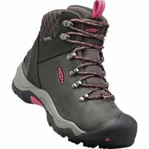 Keen REVEL III W hnědá 7.5 - Dámské zimní boty