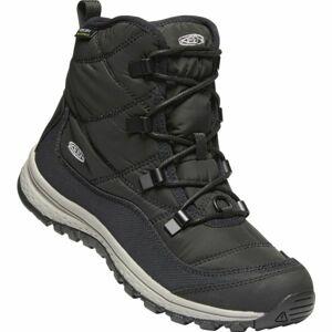 Keen TERRADORA ANKLE WP černá 7 - Dámská zimní vysoká obuv