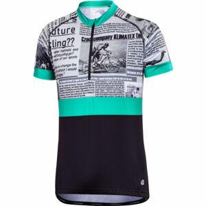 Klimatex BAREX zelená 2xl - Pánský cyklistický dres