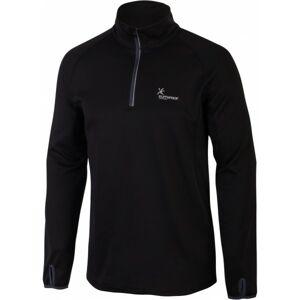 Klimatex CHARLIE černá S - Pánský outdoor pulovr