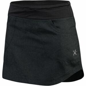 Klimatex LIMA černá L - Dámská outdoorová sukně