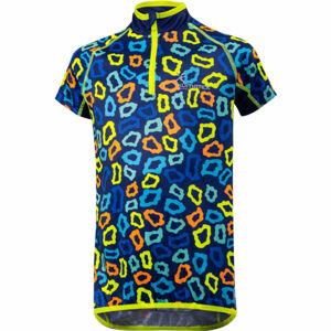 Klimatex MILKY tmavě modrá 110 - Dětský cyklistický dres