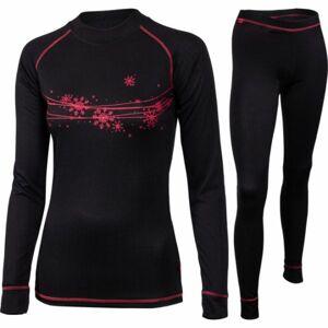 Klimatex PEROSA černá XL - Set dámského funkčního prádla