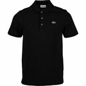Lacoste MEN S/S POLO černá S - Pánské polo tričko