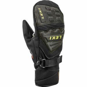 Leki JR RACE COACH C-TECH S T černá 7 - Juniorské sjezdové rukavice