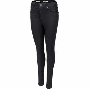Levi's MILE HIGH SUPER SKINNY BLACK G  29/32 - Dámské kalhoty