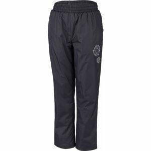 Lewro GILBERTO růžová 128-134 - Dětské zateplené kalhoty