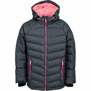 Lewro SHELBY růžová 140-146 - Dětská zimní bunda