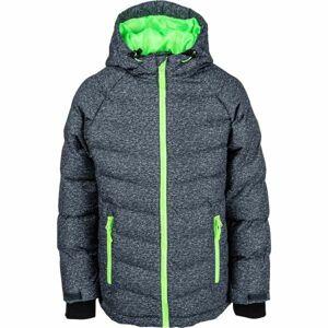 Lewro NIKA zelená 140-146 - Dětská zimní bunda