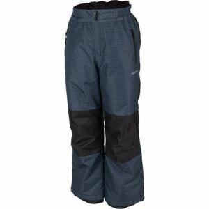 Lewro NUR šedá 116-122 - Dětské lyžařské kalhoty