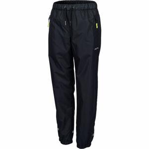 Lewro GOUDY černá 128-134 - Dětské šusťákové kalhoty