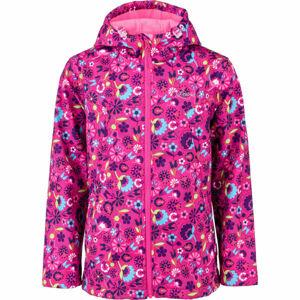 Lewro ROZALIN  116-122 - Dívčí softshellová bunda