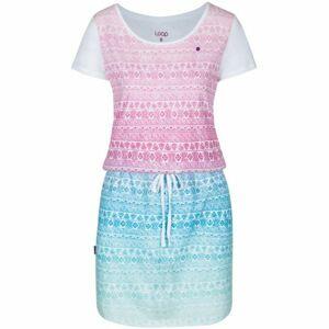Loap ALRINE bílá L - Dámské sportovní šaty