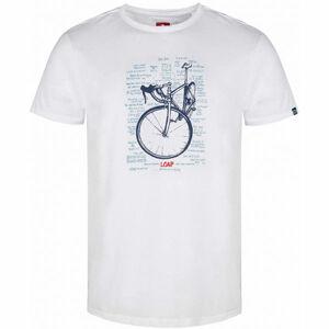 Loap ANSELMO bílá XL - Pánské triko