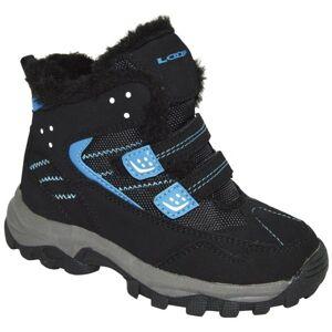 Loap BERNY modrá 31 - Dětská zimní obuv