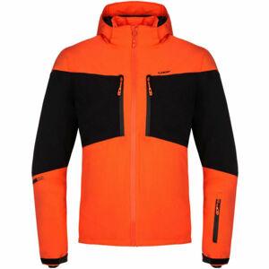 Loap FAVOR oranžová XL - Pánská lyžařská bunda