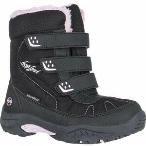 Loap FROST KID růžová 35 - Dětská zimní obuv