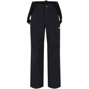 Loap LEWRY černá 122-128 - Dětské softshellové kalhoty