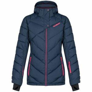 Loap ODETTE tmavě modrá L - Dámská lyžařská bunda
