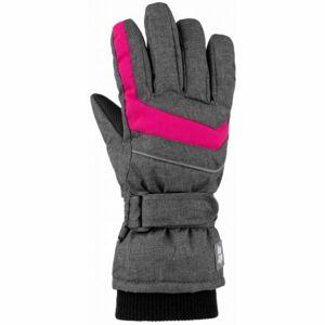 Loap RUFUS šedá 12 - Dětské rukavice