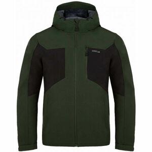 Loap LATRIC zelená S - Pánská softshellová bunda