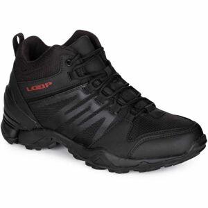 Loap DWIGHT MID WP černá 41 - Pánská volnočasová obuv