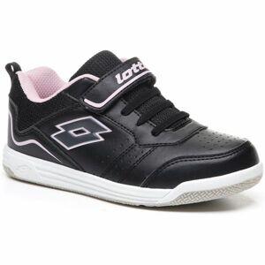 Lotto SET ACE XIII CL SL černá 34 - Dětská volnočasová obuv