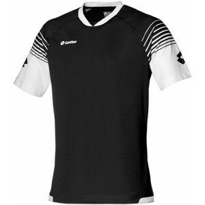Lotto JERSEY OMEGA JR černá XXS - Dětské sportovní triko