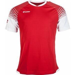 Lotto JERSEY OMEGA červená XXL - Pánské sportovní triko