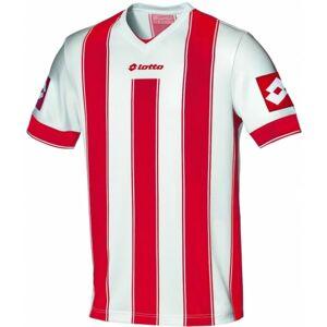 Lotto JERSEY VERTIGO EVO červená XL - Pánský fotbalový dres