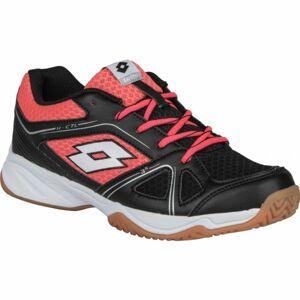 Lotto JUMPER 400 II JR L černá 39 - Dětská sálová obuv