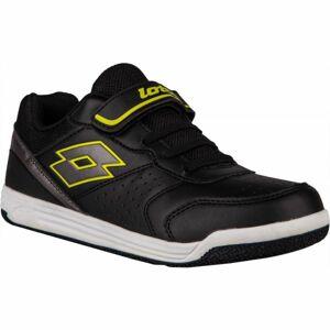 Lotto SET ACE XII CL SL černá 30 - Dětská volnočasová obuv