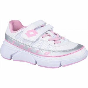 Lotto LIBRA AMF 1 CL SL bílá 27 - Dětská volnočasová obuv