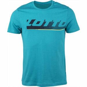 Lotto LOGO IV TEE BS JS modrá L - Pánské tričko
