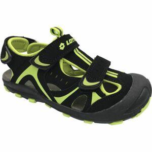 Lotto MARSHALL zelená 29 - Dětské sandály