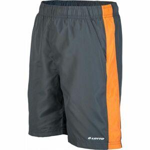 Lotto LINO oranžová 164-170 - Chlapecké sportovní trenky