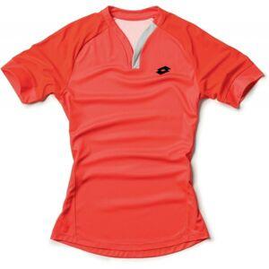 Lotto T-SHIRT CARTER červená XL - Pánské sportovní triko