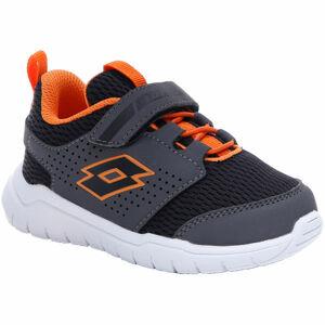 Lotto SPACEULTRA INF SL černá 23 - Dětské volnočasové boty