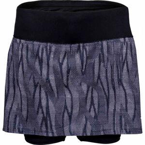 Lotto SPEEDRUN W II SKIRT PRT PL šedá XL - Dámská sportovní sukně