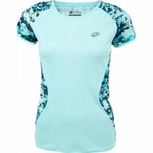 Lotto SPEEDRUN W IV TEE PRT PL  S - Dámské sportovní tričko