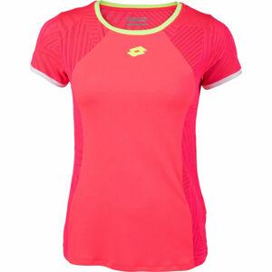 Lotto SUPERRAPIDA W V TEE PL  S - Dámské sportovní tričko