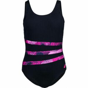 Lotto GRACIANA černá XL - Dámské jednodílné plavky