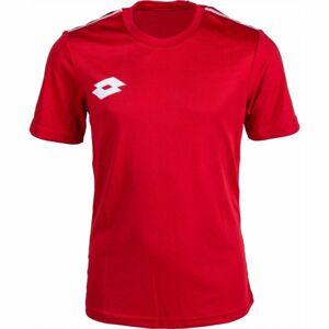 Lotto JERSEY DELTA červená L - Pánské sportovní triko