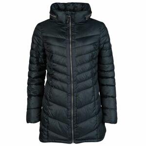 Lotto IZA IV LONG JACKET PAD W tmavě zelená S - Dámský kabát