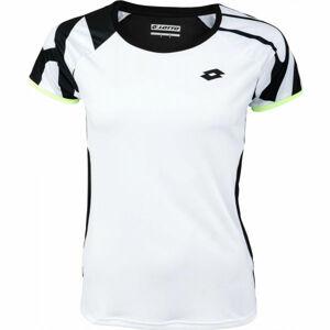 Lotto TOP TEN W TEE PRT 2 PL  S - Dámské tenisové tričko