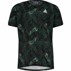 Maloja TARASPM. MULTI 1/2 zelená XL - Sportovní dres