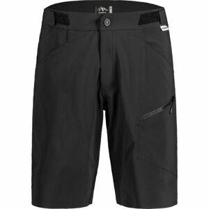 Maloja FUORNM černá 2xl - Pánské šortky na kolo